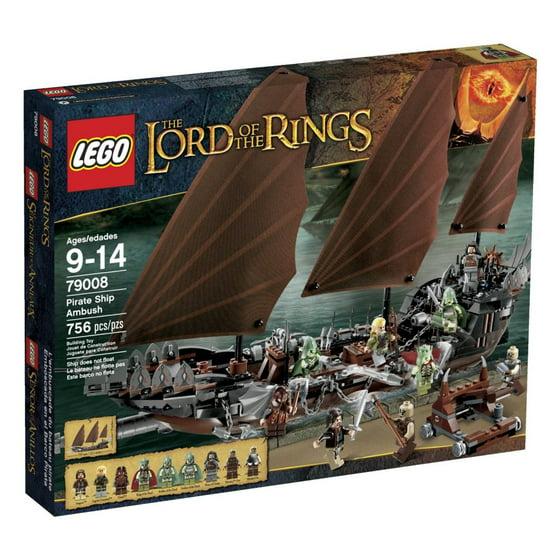 LEGO® Lord of the Rings LOTR Pirate Ship Ambush w/ Minifigures   79008
