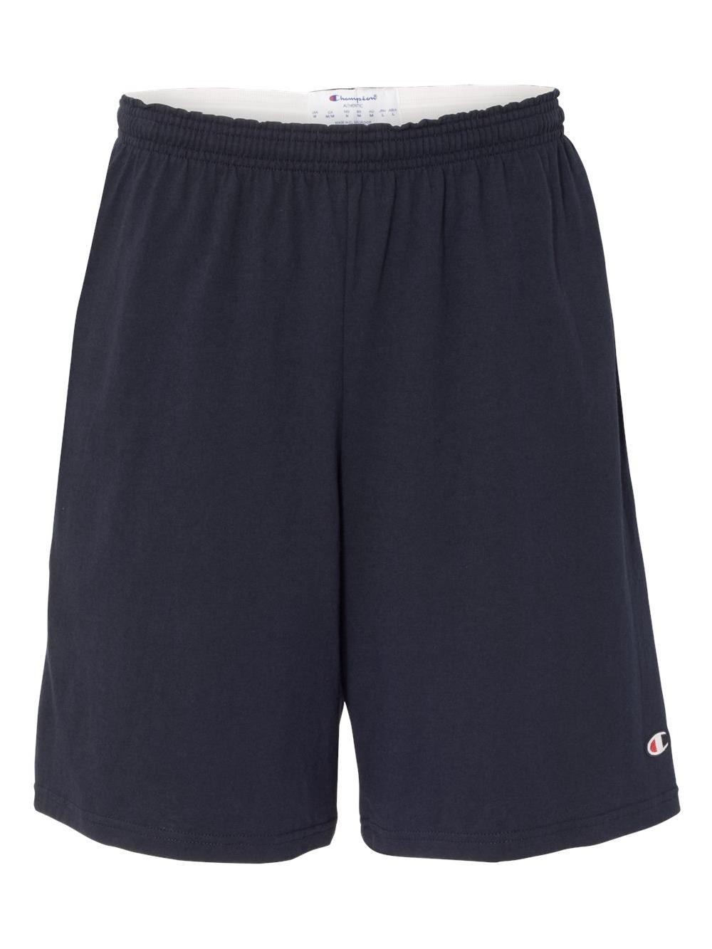 "Champion Athletics 9"" Inseam Cotton Jersey Shorts with Pockets 8180"