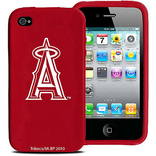 MLB - Los Angeles Angels of Anaheim iPhone 4 Case: Silicone Cover