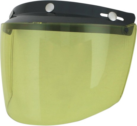 AFX Three-Snap Visor/Shield Yellow