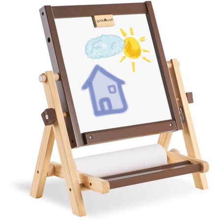 - Guidecraft 4-in-1 Flipping Tabletop Easel