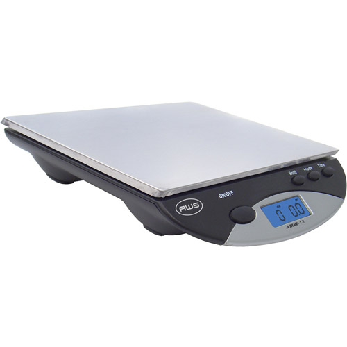 American Weigh Digital Postal Kitchen Scale, Black
