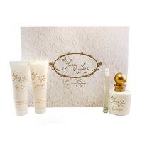 Fancy Love 4 Pc. Gift Set ( Eau De Parfum Spray 3.4 Oz + 0.34 Oz. + Body Lotion 3.0 Oz + Bath & Shower Gel 3.0 Oz )