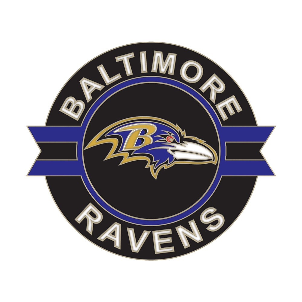 Baltimore Ravens Official NFL 1 inch  Lapel Pin by Wincraft