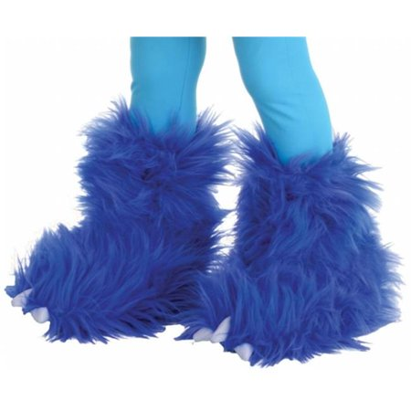 Morris Costumes UR26121 Monster Boots Electric Blue](Electric Costumes)