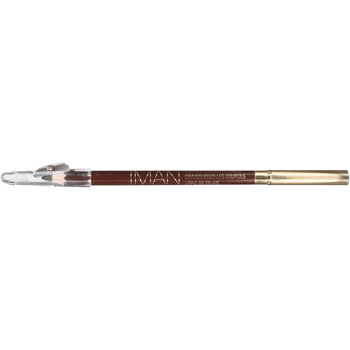 IMAN Perfect Eyebrow Pencil Blackest Brown, 0.05 oz