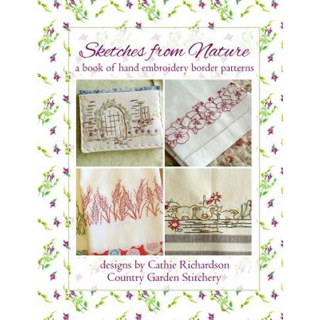 Sketches from Nature: A Book of Hand Embroidery Border Patterns