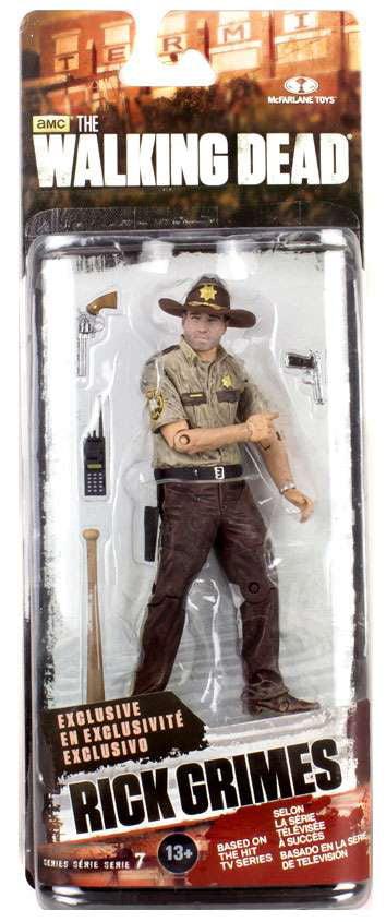 McFarlane Walking Dead Series 7 Rick Grimes Action Figure by