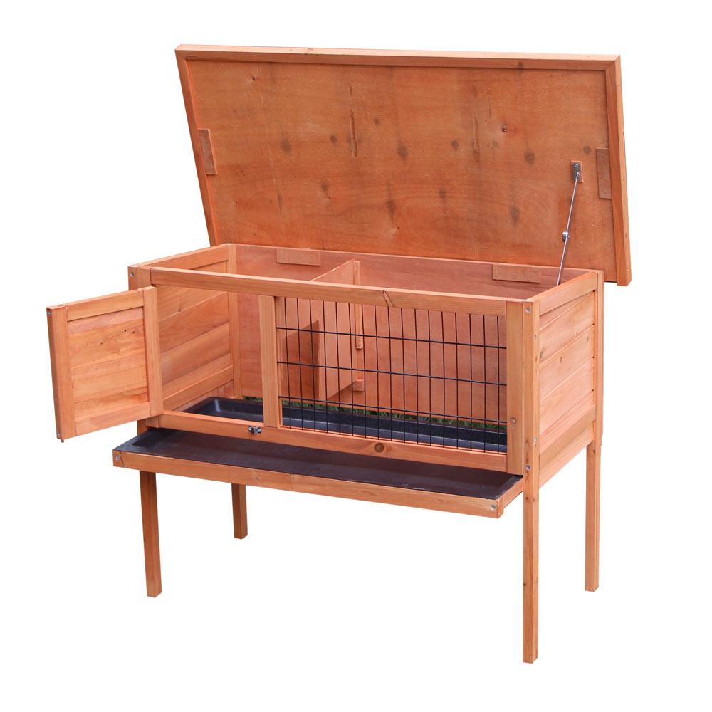 "Ktaxon 36"" Single Deck Waterproof Wooden Chicken Coop Hen House Pet Animal Poultry Cage Rabbit Hutch... by"