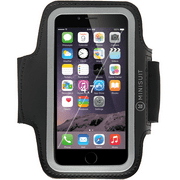 Minisuit SPORTY Armband + Key Holder for iPhone 6, 6S Black
