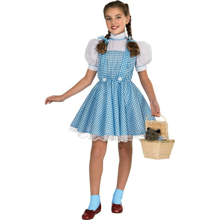 Girl's Deluxe Dorothy Wizard of Oz Costume (Cat Wizard Of Oz)