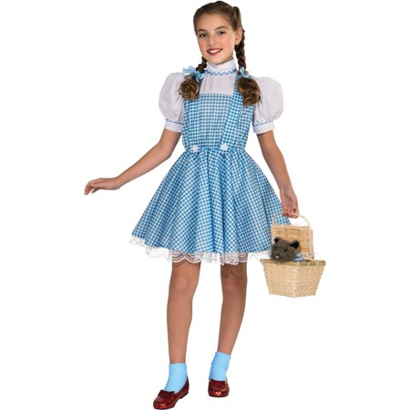 Girl's Deluxe Dorothy Wizard of Oz Costume - Rubies Wizard Of Oz Dorothy Costume