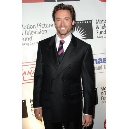 Los Angeles Framed Picture - Hugh Jackman At Arrivals For Motion Picture & Television Fund Benefit - A Fine Romance Sony Pictures Studio Los Angeles Ca November 08 2008 Photo By Dee CerconeEverett Collection Celebrity