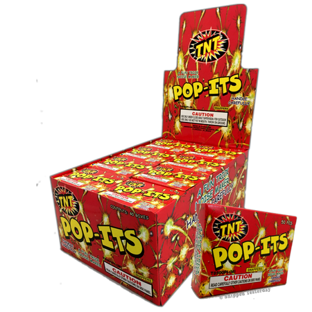 TNT POP-ITS Trick Noise Maker, Full Display Case (40 Boxes / 2,000 Snappers)](Graduation Noisemakers)