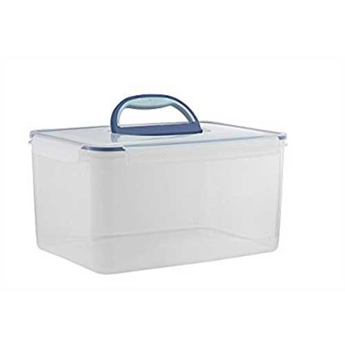 Big Size Food Storage Container Airtight with Handle Large 48.6 Cup (1 handle Clear  sc 1 st  Walmart & Big Size Food Storage Container Airtight with Handle Large 48.6 Cup ...