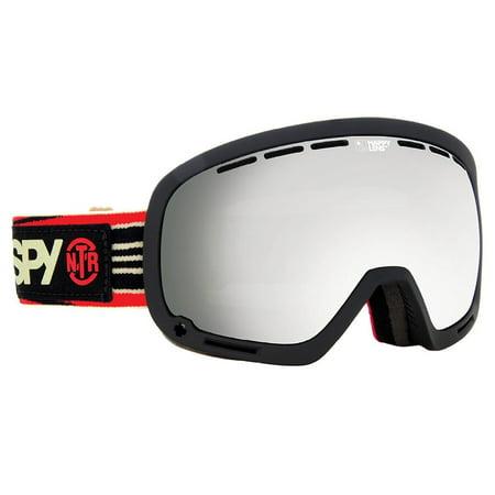 Spy Optic 313013191375 Marshall Snow Ski Goggles Non Toxic Rev Silver Mirror Anon Hawkeye Snow Goggles