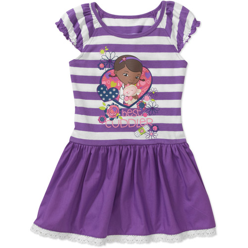 Disney Doc McStuffins Baby Toddler Girls Tee Shirt Dress