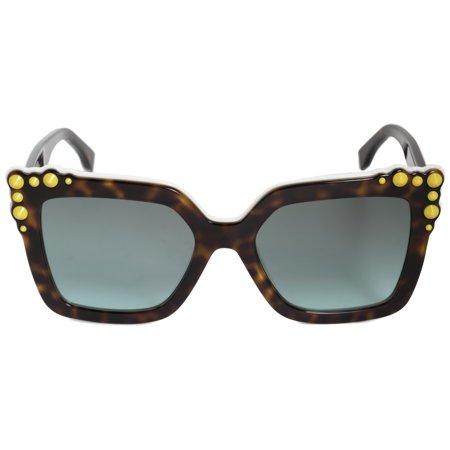 Fendi FF 0260/S 0C9K Can Eye White Eyewear Sunglasses