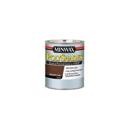 Minwax® PolyShades® Mission Oak, Gloss, 1-Qt