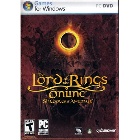 LORD OF THE RINGS: SHADOWS OF ANGMAR PC DVD - Create your hero and achieve greatness in Middle
