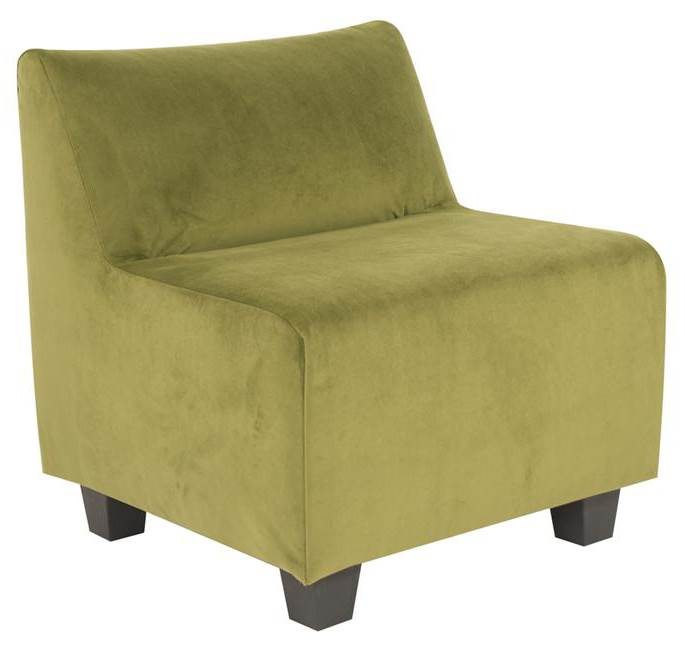 Accent Pod Chair in Moss Finish by Howard Elliott Collection
