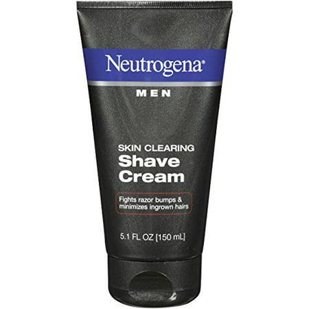 5 Pack - Neutrogena Men Skin Clearing Shave Cream 5.10oz Each