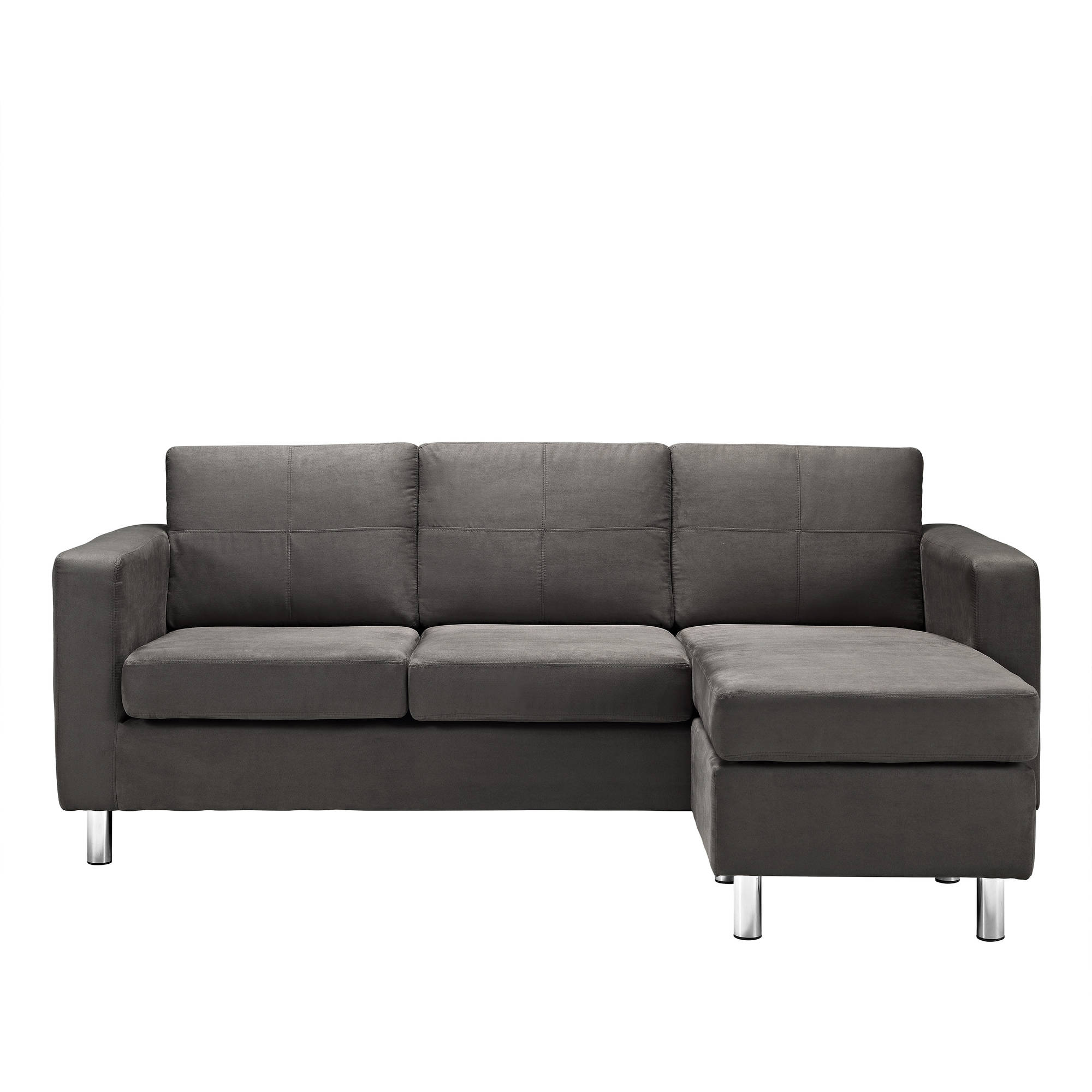 Attirant Dorel Living Small Spaces Configurable Sectional Sofa, Multiple Colors    Walmart.com