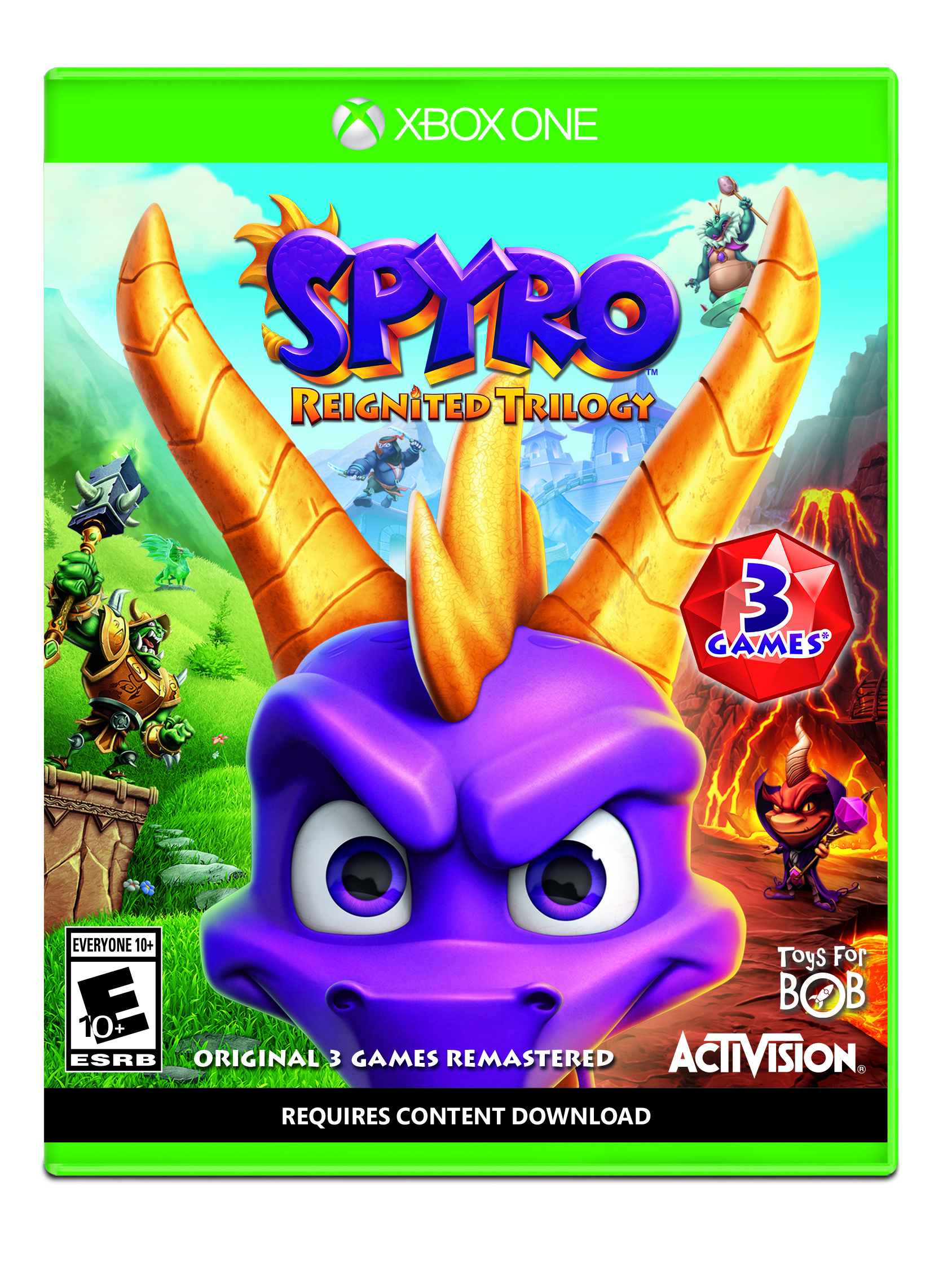 Spyro Reignited Trilogy, Activision, Xbox One, 047875882423 by Activision