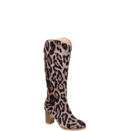 Brinley Co. Womens Comfort Extra Wide Calf Microsuede Mid-calf Boot ()