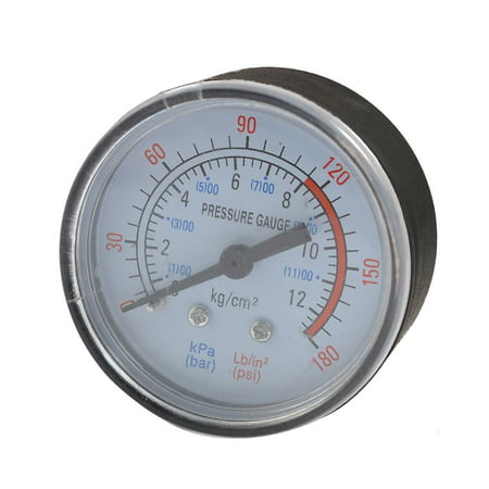 Unique Bargains Air Compressor 13mm Male Thread 0-180PSI 12 Bar Pressure - Gauge Pressure Transmitter