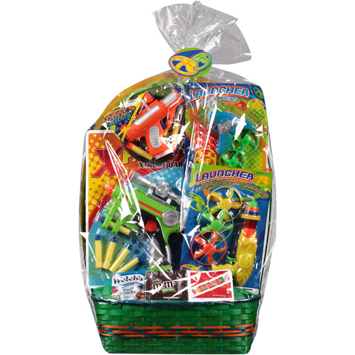 Outdoor Fun Easter Basket with Toys and Assorted Candies