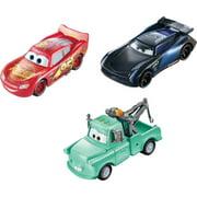 Disney Pixar Cars Color Changers Lightning Mcqueen, Mater & Jackson Storm 3-Pack