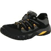 Propet Men's Blazer Lace Up Sneakers Black Suede Mesh 10 M