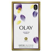 Olay Moisture Outlast Age Defying Beauty Bar, 3.75 oz, 6 Count