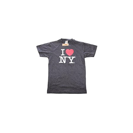 I Love Ny Charcoal T Shirt Unisex Tee Licensed Official