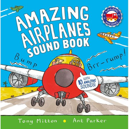 Amazing Airplanes Sound Book : A very noisy book - Halloween Boo Sound Effect