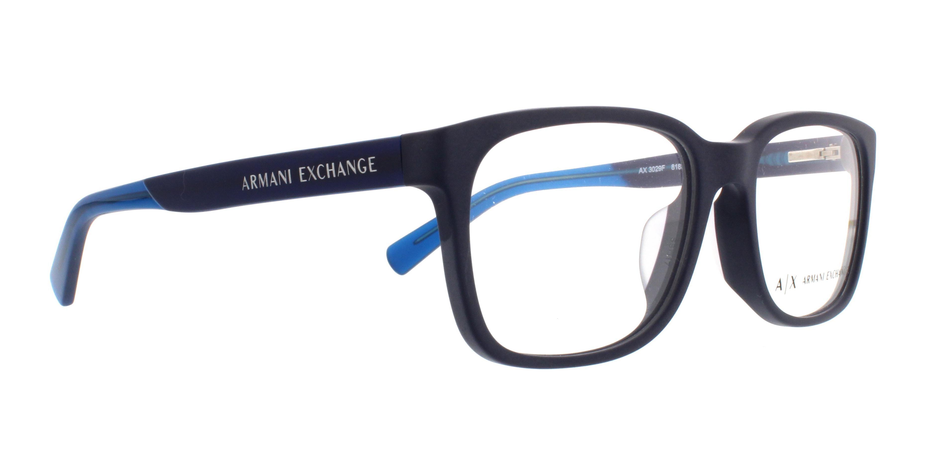 Occhiali da Vista Armani Exchange AX3012F Asian Fit 8020 QB8DTJG