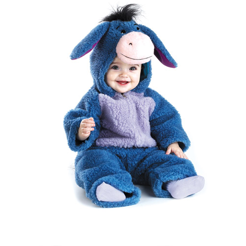 Winnie the Pooh Eeyore Deluxe Plush Infant Halloween Costume, Size 12-18 Months