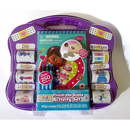 Disney Doc McStuffins Activity Set Finish The Scene Stickers - image 2 of 2