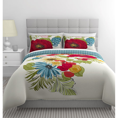 East End Living Floral Garden Bedding Duvet Set