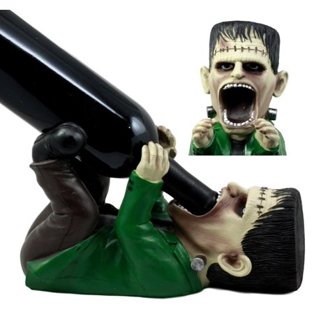 Dr Seuss Centerpieces (Ebros Prometheus Doomsday Dr Victor Frankenstein Wine Holder Figurine 10.25