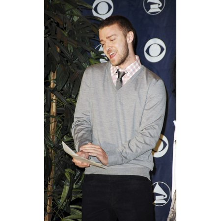 Justin Timberlake At The Press Conference For 49Th Annual Grammy Awards Nomination Announcement Music Box At The Fonda Los Angeles Ca December 07 2006 Photo By Michael GermanaEverett Collection