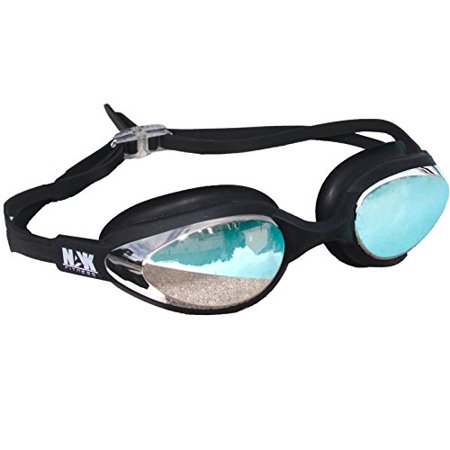 NAK Fitness Swim Goggles Anti Fog No Leaking ()