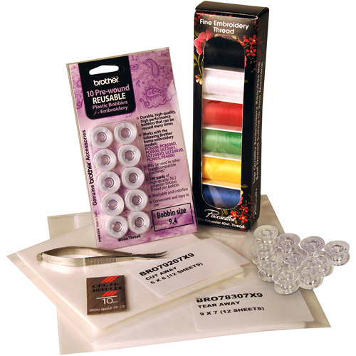 Brother Pacesetter Embroidery Starter Kit, Model SAEPKIT1