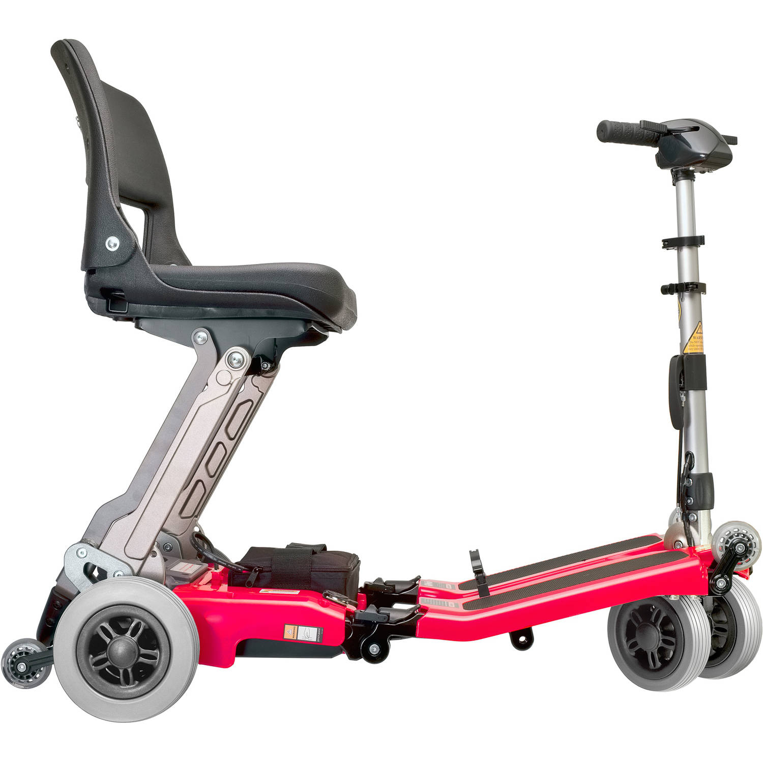 Luggie Classic Foldable Power Mobility Scooter - Red