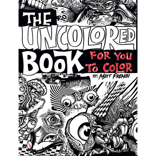 The Uncolored Book for You to Color