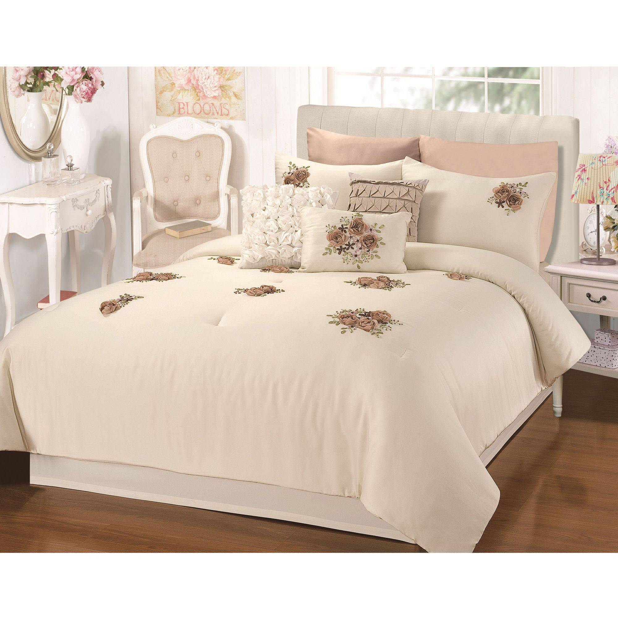 aqua shipping bath heidi product the today bedding set madison gray barn comforter overstock piece percale free sleeping park hills cotton