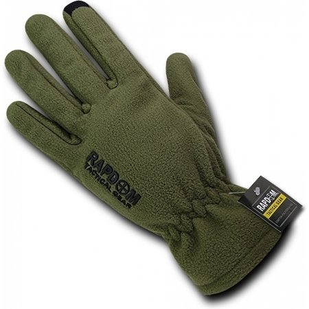 RapDom Breathable Fleece Tactical Gloves [Olive Drab - S]