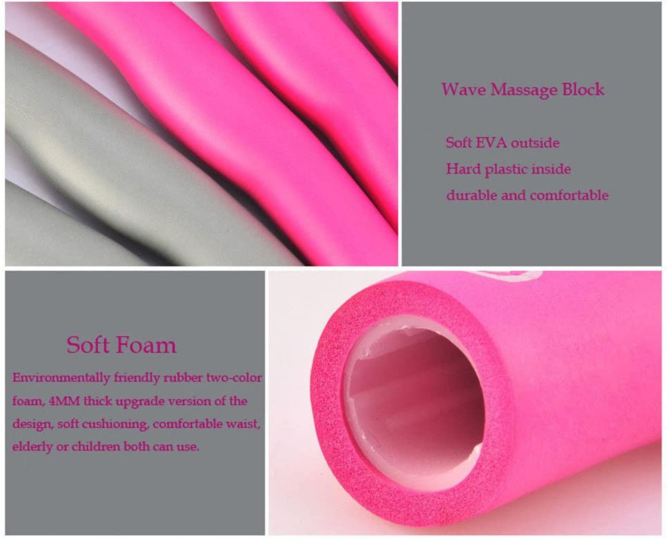 Fitness Exercise Foam Fitness Exercise Hula Hoop Lose Weight Aerobic Exercise 6//7//8 Sections Parts Assembled Hula Hoop Make Thin Waist