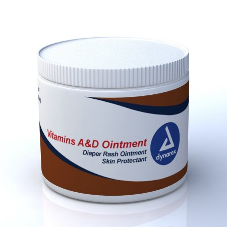 Dynarex Vitamins A & D Ointment, 15 oz Jar  Scented, 6 Pack Features:-A & D Ointment Scented-15 oz. Jar-Skin Protectant-Diaper rash ointment-Not Made with Natural Rubber Latex